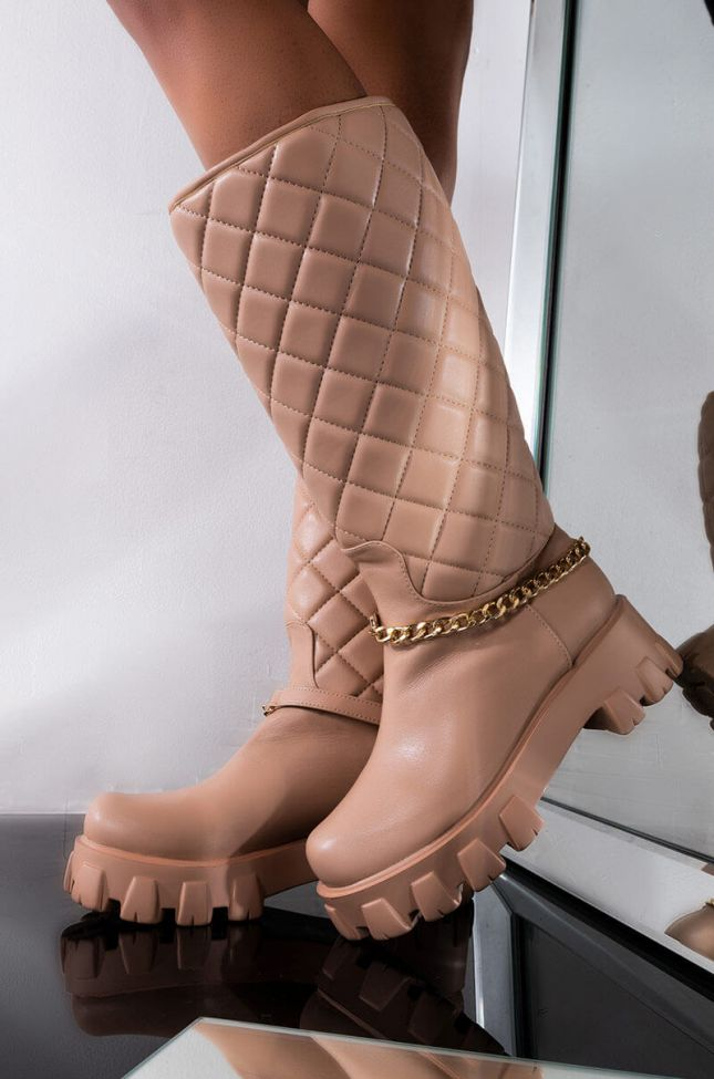 RIDE OR DIE QUILTED BOOT