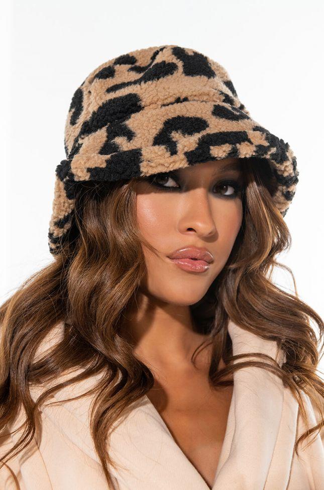 SHERPA CHEETAH BUCKET HAT