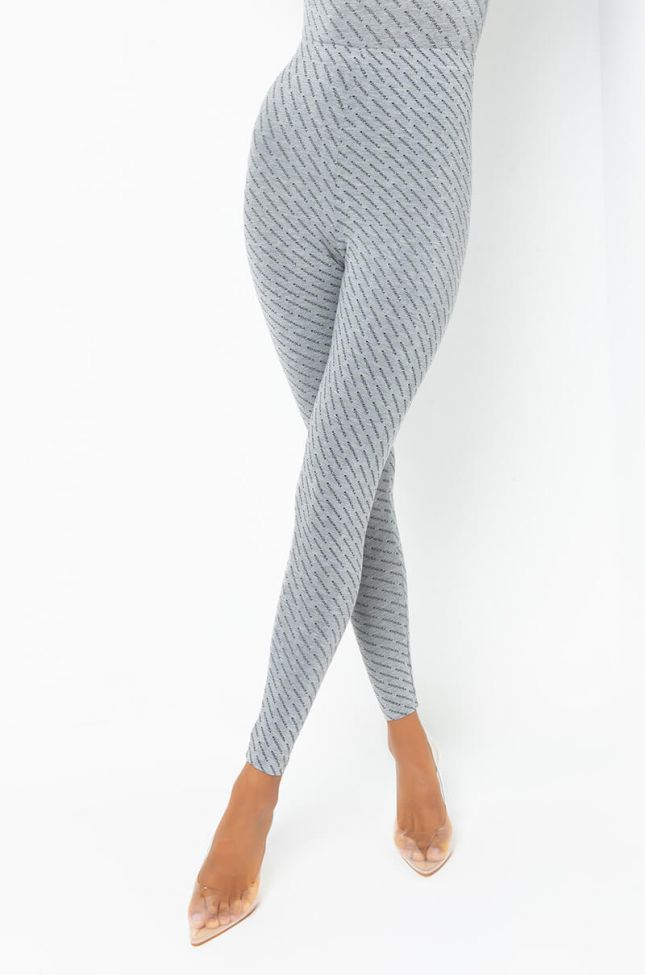 Front View Shopakira Legging in Grey