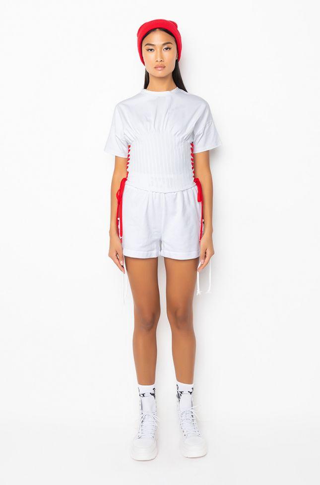 Full View Stfu Lace Up Shorts