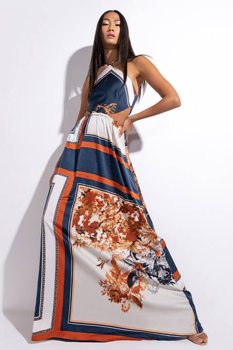 Front View Sweet Deal Maxi Dress