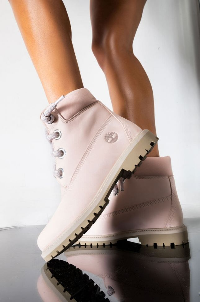 """TIMBERLAND HERITAGE 6"""" WATERPROOF CONVENIENCE LACE BOOTIE"""