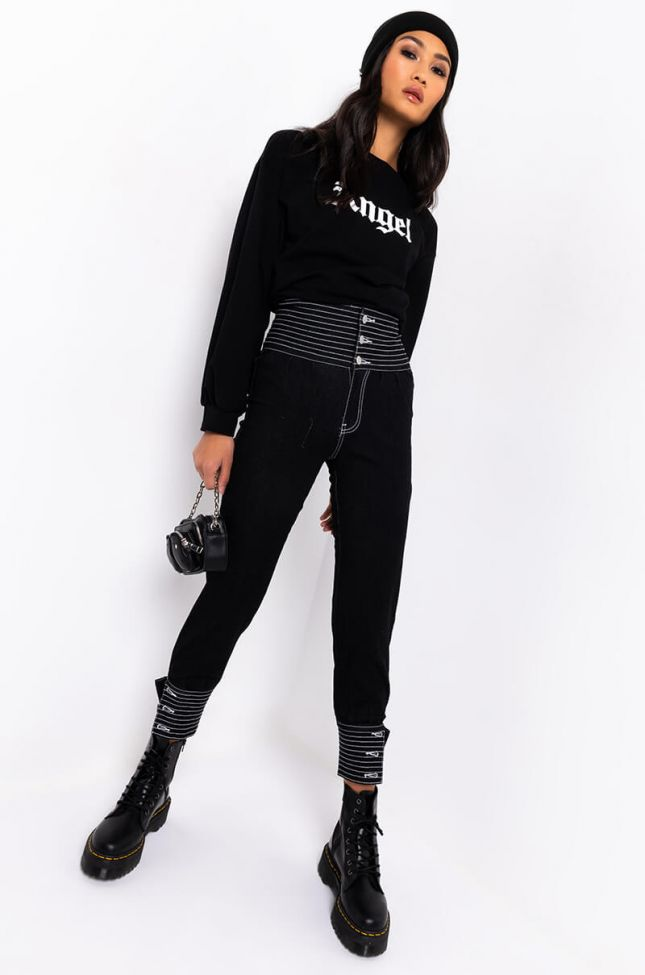 Full View The Best Of Me Jeans in Black Denim