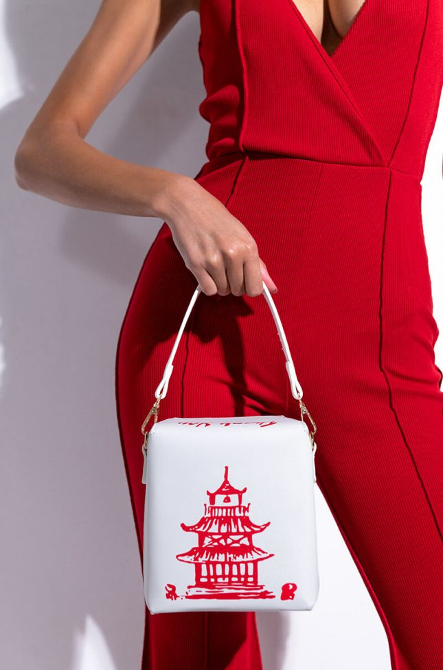Side View Time Is Money Takeout Purse