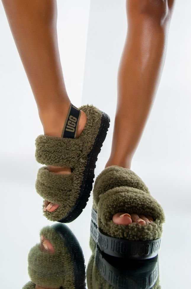 Front View Ugg Oh Fluffita