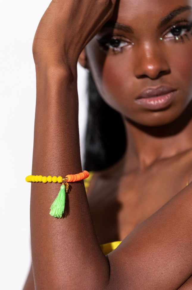 Front View Vacation Vibes Bracelet