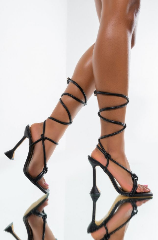 Front View Walk Into The Club Like Stiletto Sandal