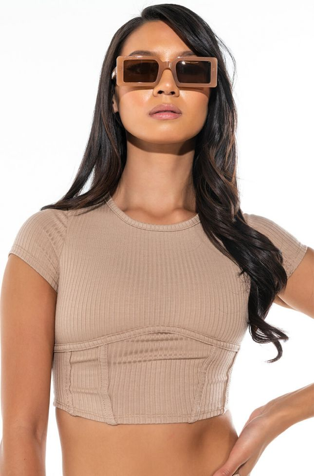 WANT IT ALL CROPPED TOP