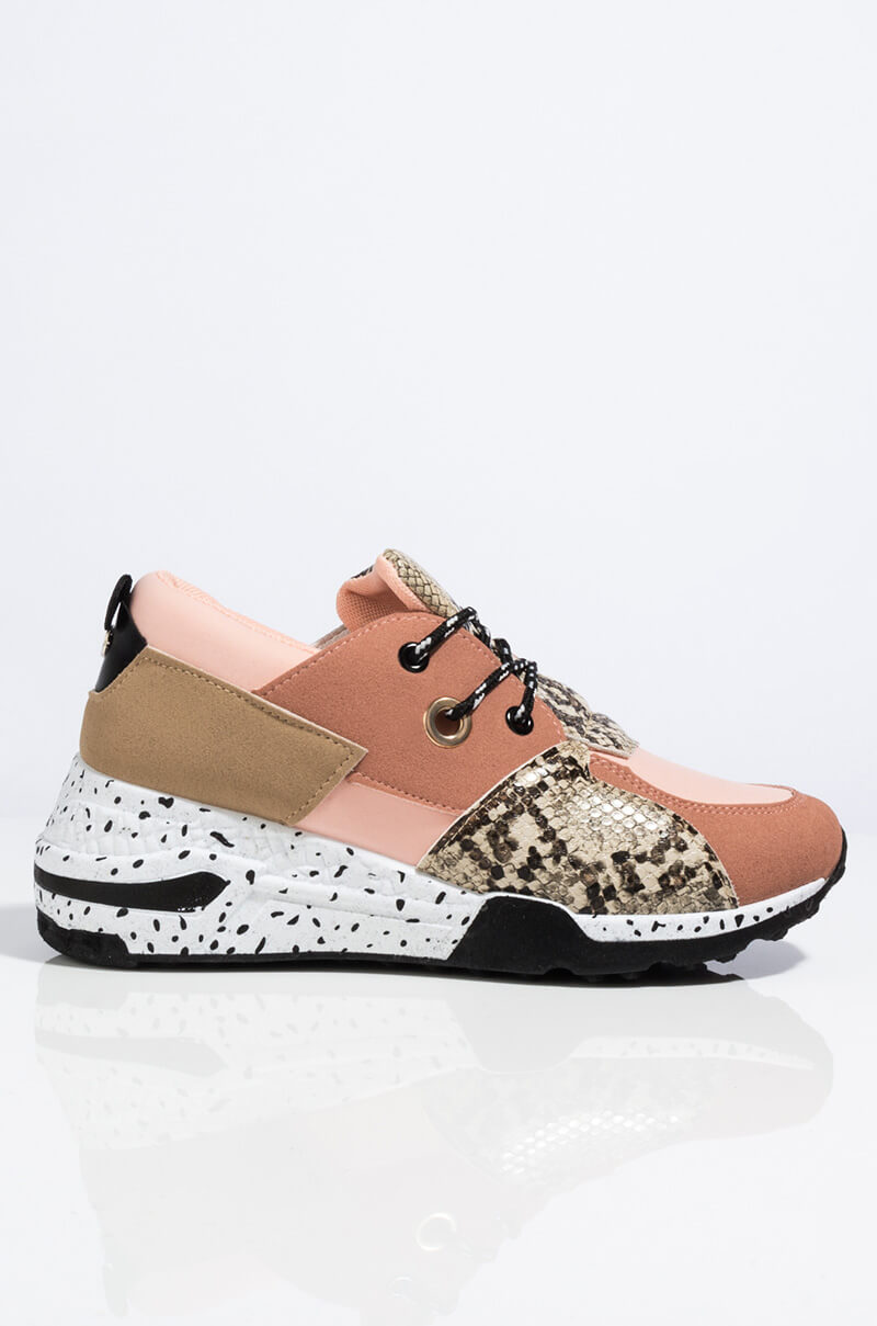 Fast Track Athleisure Sneakers by Akira