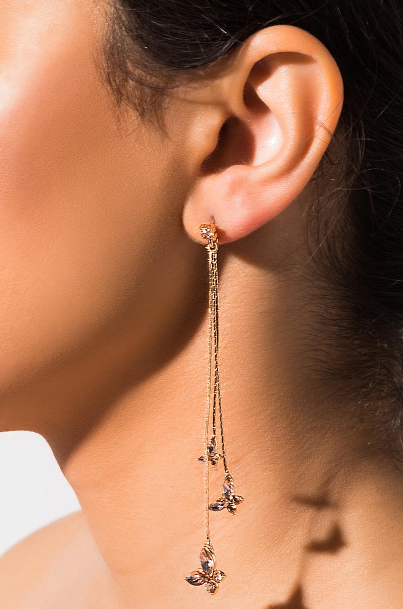 Flutter Drop Earring by Akira