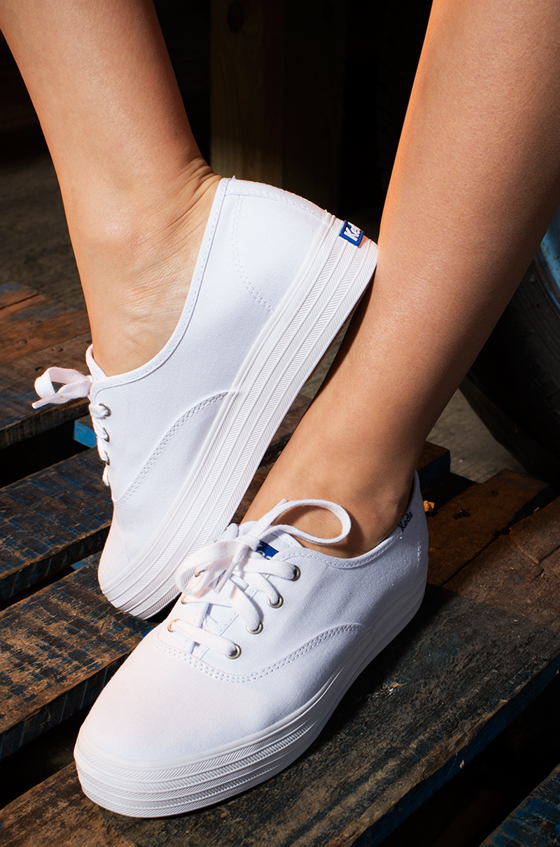 Keds Triple Canvas Flatform Sneaker Platforms Shoes