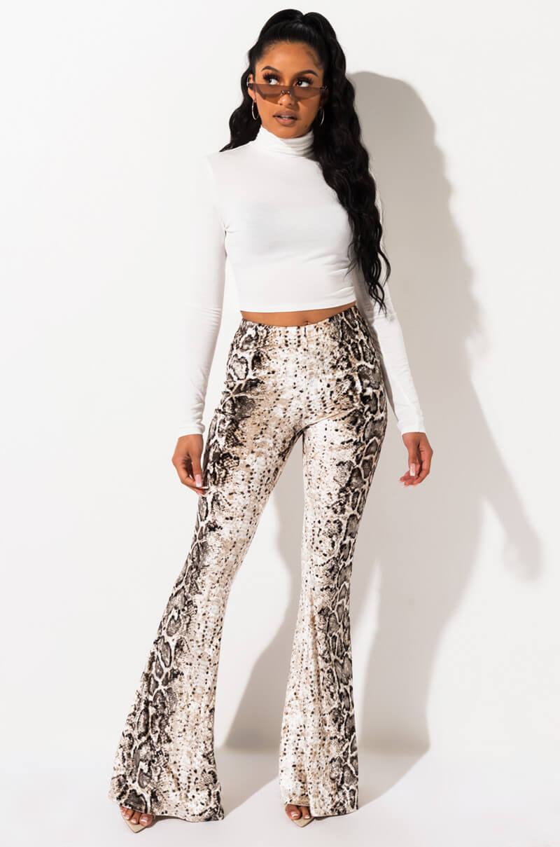 Never Say Never Flare Pant by Akira