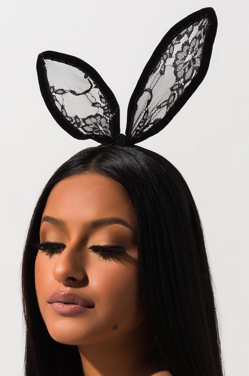 PVC Bunny Headband