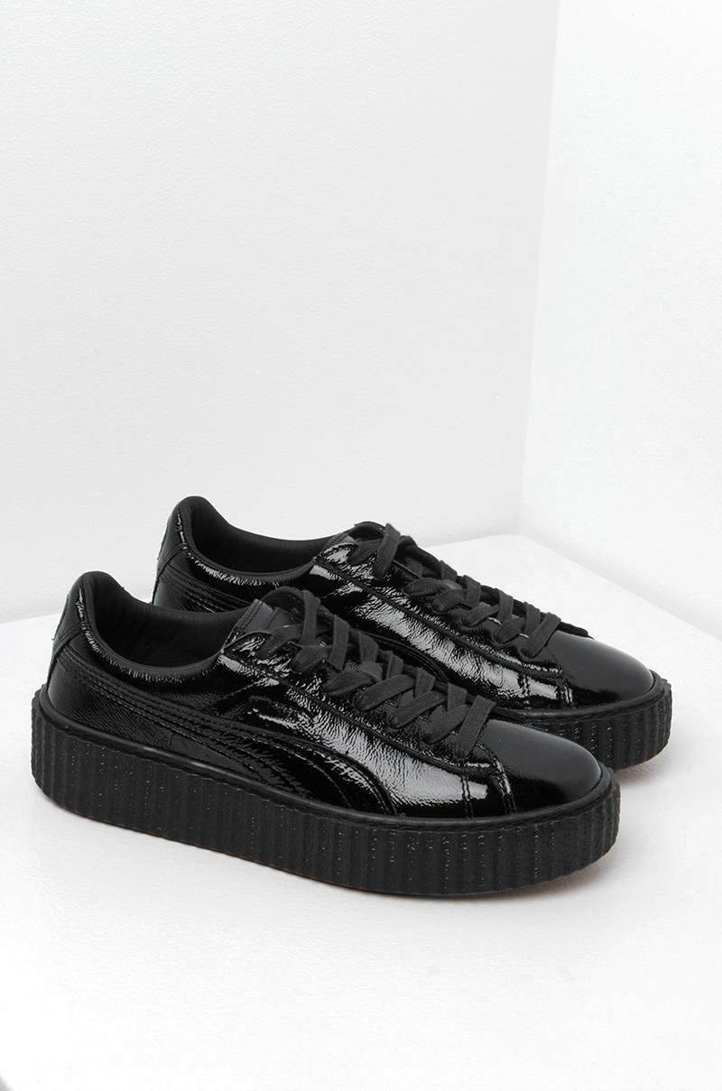 140dcc158d1 Puma X Fenty Cracked Creepers in Black