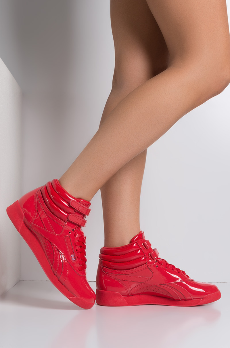 reebok womens high top tennis shoes