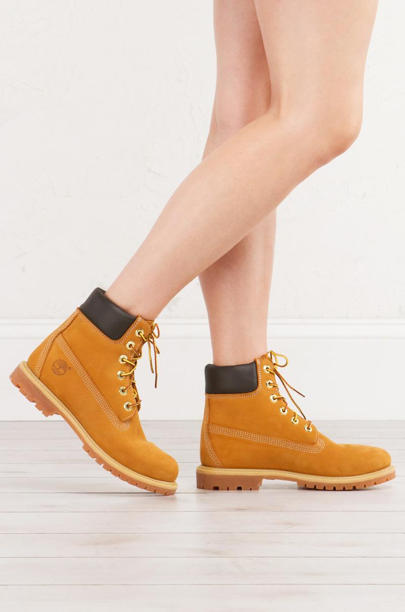 Timberland Women s Premium Waterproof Boot in Wheat Nubuck 6e40cb7c1e5