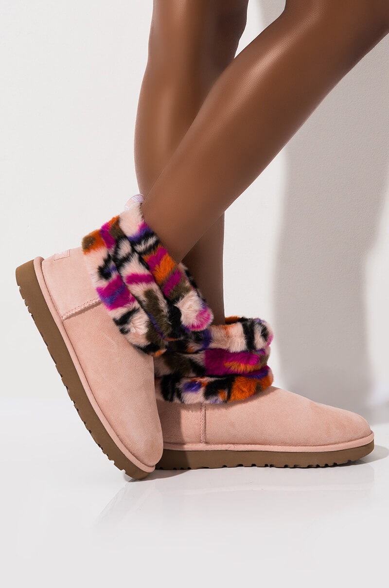 Ugg Fluff Mini Quilted Motlee Boot by Akira