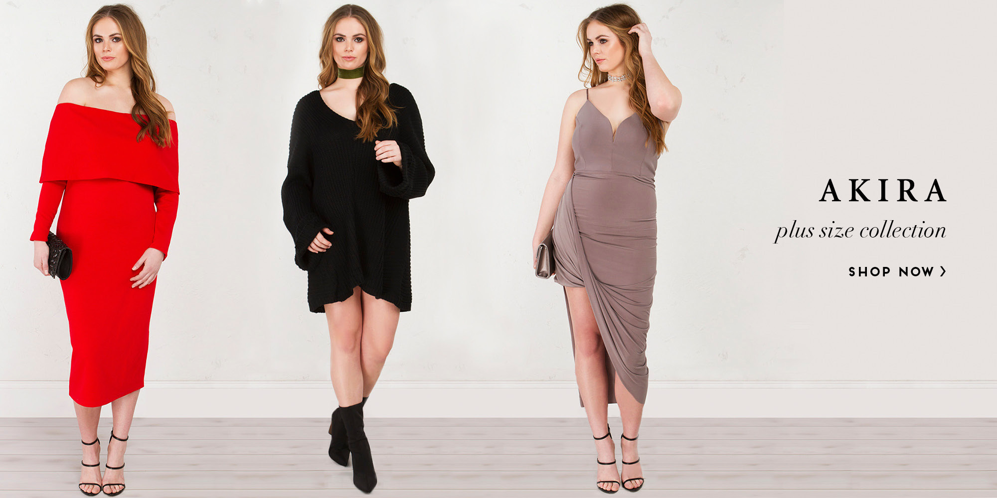 Click to Shop Plus Size Collection