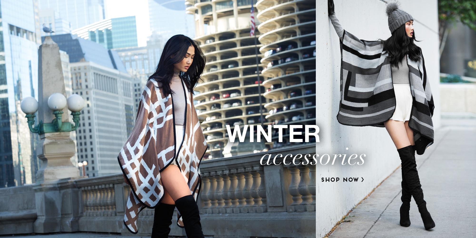 Click to Shop Winter Accessories