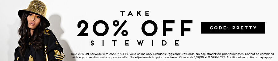 Take 20% Off Sitewide with code PRETTY.
