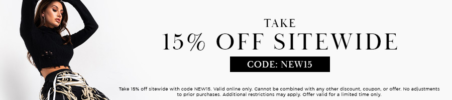 Take 15% Off Sitewide with code NEW15.