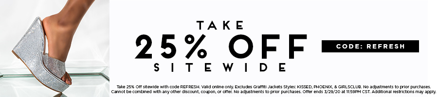 Take 25% Off Sitewide with code REFRESH.