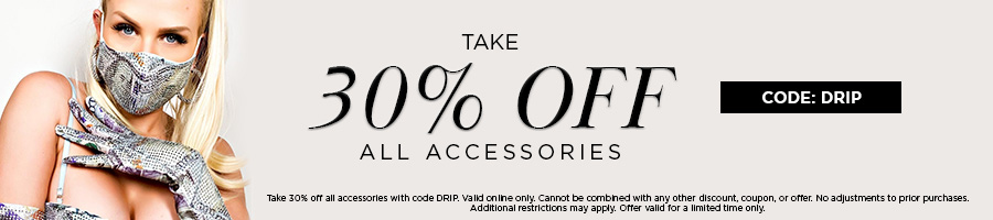Take 30% Off All Accessories with code ICE.