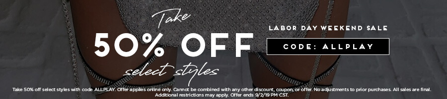 Take 50% Off Select Styles with code ALLPLAY.