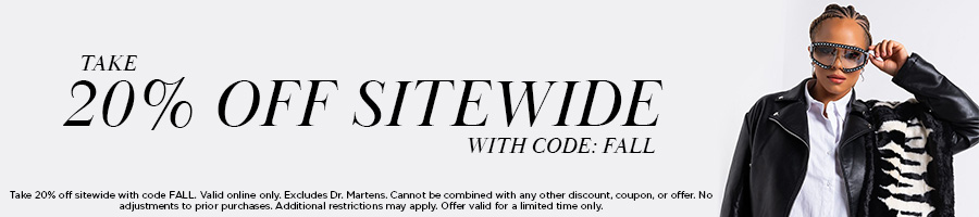 Take 20% Off Sitewide with code FALL.