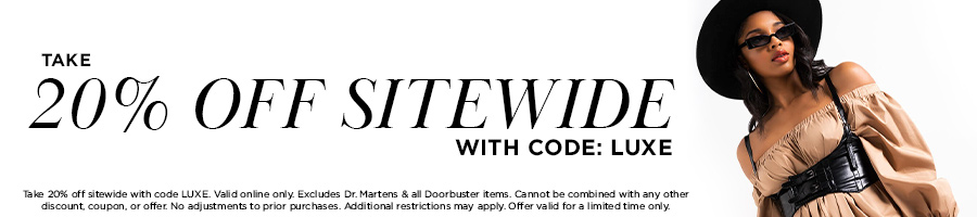 Take 20% Off Sitewide with code LUXE.