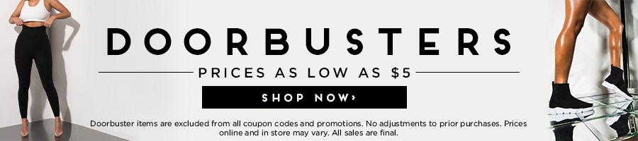 Shop Doorbusters as low as $5.