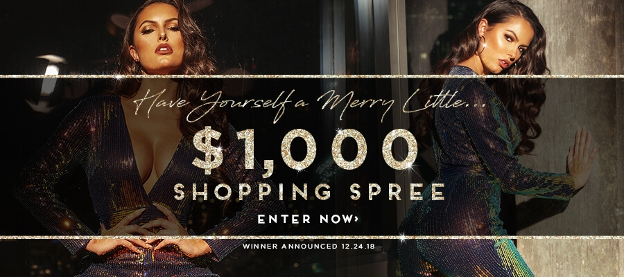 Have Yourself A Merry Little $1,000 Shopping Spree. Enter Now!