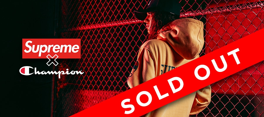 Supreme X Champion All Sold Out