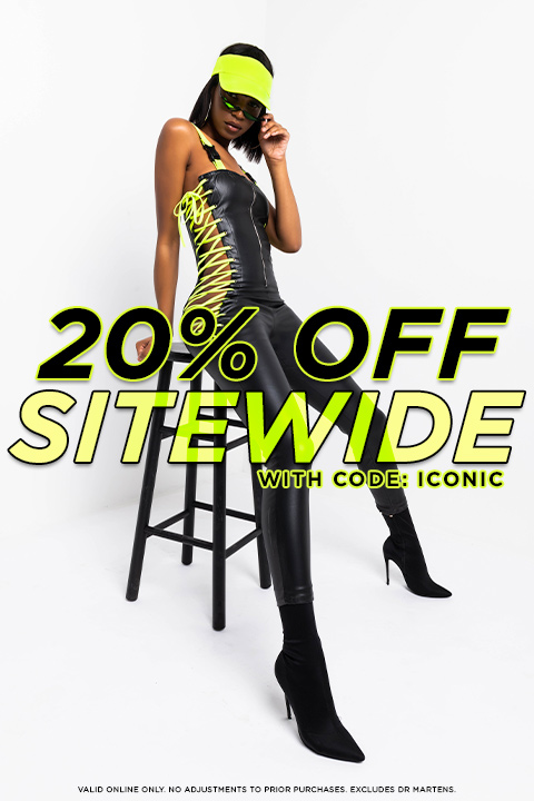 Take 20% Off Sitewide with code ICONIC